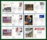 Promo Collection 58 FDC soie 1983 (cote + 150 € ) 11 Scans à voir !