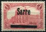 SARRE  _  Y & T  :  N°  17  *    Cote  :   60,00  €