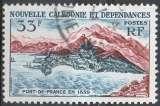 miniature timbre YT 301 O nouvelle calédonie 1960 PORT DE FRANCE, colonies DOM TOM