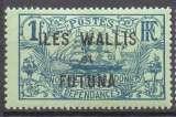 miniature timbre poste YT 15 ** WALLIS FUTUNA 1920 VOILIER, colonies DOM TOM