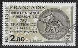 miniature FRANCE 1983 Y&T 2285 oblitéré - Indépendance américaine 1783