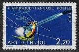 miniature FRANCE 1983 Y&T 2286 oblitéré - Art du bijou , Métiers d'art