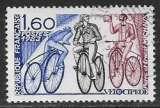 miniature FRANCE 1983 Y&T 2290 oblitéré - Le vélocipède
