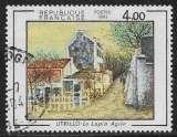 miniature FRANCE 1983 Y&T 2297 oblitéré - Le Lapin Agile , œuvre de Maurice Utrillo