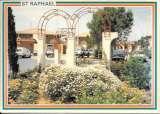miniature Cpm 83 Saint Raphael , la place , voyagée , voitures anciennes