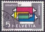 SUISSE 1957 OBLITERE N° 586