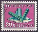 SUISSE 1959 OBLITERE N° 627