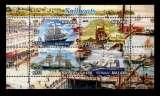 miniature BA8 - Bloc feuillet Neuf ** MNH - Malawi 2011 - Bateaux Voiliers Sailing ships