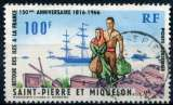 SAINT-PIERRE-ET-MIQUELON _  Y & T  - PA  N°   36  (o)    _    Cote  :    7,70  €