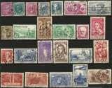 miniature France - Lot de 58 timbres oblitérés - Entre 1933 et 1939