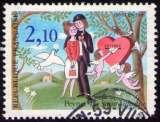 miniature France - Y&T 2354 - Les Amoureux - Raymond Peynet - La Saint-Valentin
