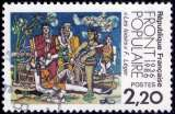 miniature France - Y&T 2394 - Les Loisirs - Fernand Léger - Cinquantenaire du Front Populaire