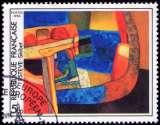 miniature France - Y&T 2413 - Skibet - Maurice Estève - Tableau - Série artistique