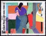 miniature France - Y&T 2414 - Virginia - Alberto Magnelli - Tableau - Série artistique