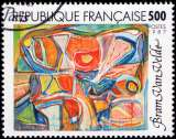 miniature France - Y&T 2473 - Oeuvre de Bram Van Velde (1895-1981) - Série artistique