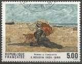 miniature France - Y&T 2474 - Femme à l'ombrelle - Eugène Boudin (1824-1898) - Série artistique