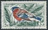 miniature Liban - Y&T 0250 (o) - Oiseaux -
