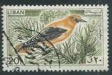 miniature Liban - Y&T 0254 (o) - Oiseaux -