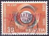 SUISSE 1965 OBLITERE N° 757
