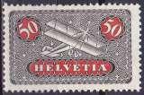 SUISSE 1923 NEUF* charnière Poste aérienne N° 9