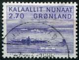 miniature GROENLAND  _  Y & T  N°   124  (o)  -  Cote  :   1,25  €