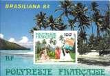 miniature Polynésie Française bloc YT 7,8,9 et 10 ** MNH