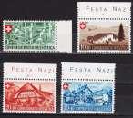 Pro Patria 1945, Zumstein P 26-29** Maisons