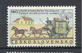 miniature Tchecoslovaquie Y & T N° 1654**  140é Anniversaire de la diligence Ceske-Budejovice-Linz