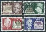 miniature FRANCE 1971 Y&T 1667 / 1670 Neufs ** - Personnages célèbres