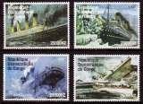 miniature Série De Timbres Neufs ** Mnh - Congo 1997 - Le Titanic