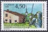 miniature FRANCE 1996 NEUF** MNH N° 3002 Maison de Jeanne d'Arc à Domrémy-la-Pucelle