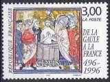 miniature FRANCE 1996 NEUF** MNH N° 3024 De la Gaule à la France