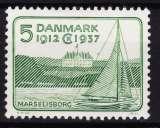 miniature DANEMARK  Y & T N° 249*  COTE 2.00