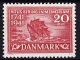miniature DANEMARK  Y & T N° 279*  COTE 1.50