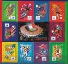 miniature  France 1998 Yvert Bloc Feuillet 19 Neuf ** Cote (2012) 14.00 Euro Coupe du monde de Football