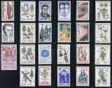 miniature France - Lot de timbres MNH en franc à 80% de la faciale