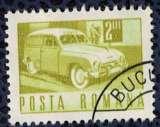 miniature Roumanie 1968 Oblitéré Used Service de Collecte du Courrier en voiture postale SU