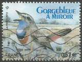 miniature France - Y&T 4657 - Gorgebleue à miroir - Ligue de Protection des Oiseaux