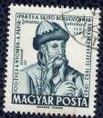 miniature Hongrie 1962 Oblitéré Used Johannes Gutenberg Imprimeur SU