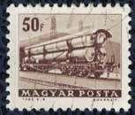 miniature Hongrie 1963 Oblitéré Used Chemins de Fer Railroad tank Wagon Citerne SU