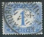 miniature Egypte - Taxe - Y&T 0017 (o)