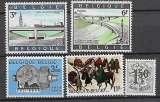 miniature Belgique  1969 N° 1514 à 1518 **