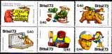 miniature Brésil 1065 / 69 En hommage à Monteiro Lobato, auteur de livres pour enfants