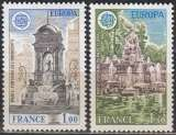 miniature  France 1978 Yvert 2008 - 2009 Neuf ** Cote (2015) 2.25 Euro Europa CEPT Monuments