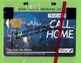 Télécarte - F121 120 unités GEM1 Call home - année 1990 sous blister