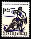 miniature Tchecoslovaquie 1254 ( Hors serie ) Evènements sportifs de l'année