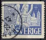 miniature SUEDE 1946 OBLITERE N° 321