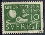 miniature SUEDE 1949 OBLITERE N° 352a