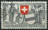 SUISSE 1952 OBLITERE N° 521