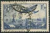 miniature FRANCE 1936 OBLITERE Poste aérienne N° 9